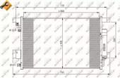 Nrf 35872 Радиатор кондиционера EASY FIT