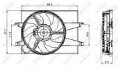 Nrf 47006 Вентилятор охлаждения
