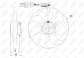 Nrf 47064 Вентилятор охлаждения радиатора