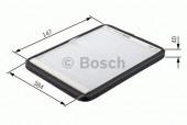 Bosch 1 987 431 454 Фильтр салона