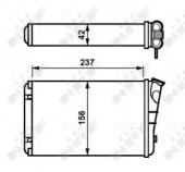 Nrf 54238 Радиатор отопителя