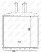 Nrf 54270 Радиатор отопителя Lacetti
