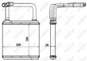 Nrf 54273 Радиатор отопителя