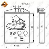 NRF 54275 Радиатор отопителя EASY FIT