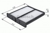 Bosch 1 987 432 086 Фильтр салона