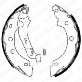 Delphi LS1842 Тормозные колодки барабанные