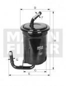 MANN-FILTER WK 614/13 фильтр топливный