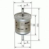 Bosch 0 450 905 201 фильтр топливный