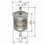 Bosch 0 450 905 318 фильтр топливный