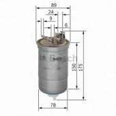 Bosch 0 450 906 267 фильтр топливный