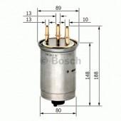 Bosch 0 450 906 508 фильтр топливный