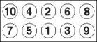 Payen HBS246 Болты ГБЦ VAG 1.6/2.0 AEH/AHL/AEG