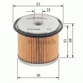 Bosch 1457429230 фильтр топливный
