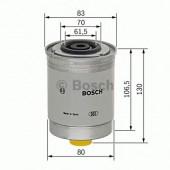 Bosch 1457434103 фильтр топливный