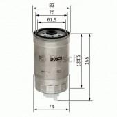 Bosch 1457434105 фильтр топливный