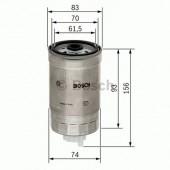 Bosch 1457434106 фильтр топливный