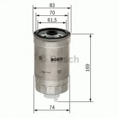 Bosch 1457434198 фильтр топливный