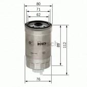 Bosch 1457434291 фильтр топливный