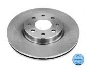 Meyle 215 521 0008 Тормозной диск вентилируемый передний Fiat DOBLO