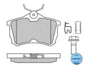 Meyle 025 235 2714/W Тормозные колодки дисковые Honda ACCORD VIII