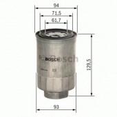Bosch 1457434453 фильтр топливный