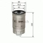 Bosch 1457434460 фильтр топливный