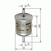 Bosch F 026 402 001 фильтр топливный