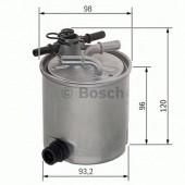 Bosch F 026 402 019 фильтр топливный