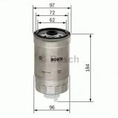 Bosch F 026 402 036 фильтр топливный