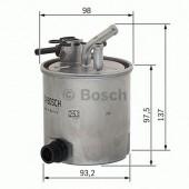 Bosch F 026 402 059 фильтр топливный