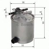 Bosch F 026 402 072 фильтр топливный