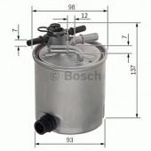 Bosch F 026 402 096 фильтр топливный