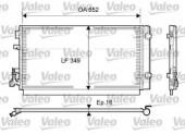 Valeo 814094 Радиатор кондиционера