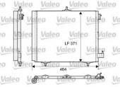 VALEO 814095 Радиатор кондиционера