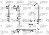 Valeo 817506 Радиатор кондиционера