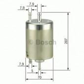 Bosch F 026 403 000 фильтр топливный