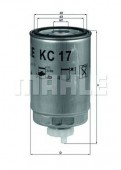 MAHLE KC 17D фильтр топливный
