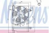 Nissens 85062 Вентилятор