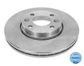 Meyle 16-15 521 0027 Тормозной диск вентилируемый передний Ren KANGOO II