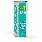 XADO Atomic oil Super Synthetic 10W-40 4T MA Cинтетическое масло