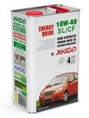 XADO Atomic OIL 10W-40 SL/CF Полусинтетическое моторное масло