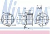 Nissens 87061 Вентилятор отопителя