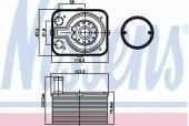 NISSENS 90655 Масляный радиатор