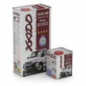 XADO Масло моторное XADO Atomic OIL Silver 10W-40 SG/CF-4 всесезонное