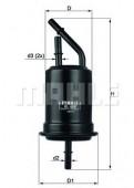 MAHLE KL 488 фильтр топливный