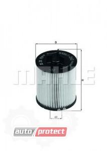 Фото 1 - MAHLE KX 86/1D фильтр топливный