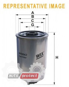 Фото 1 - WIX WF8068 фильтр топливный