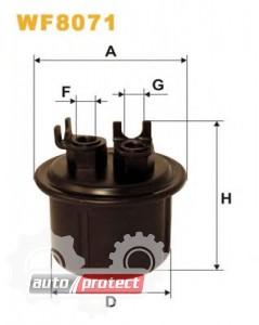 Фото 1 - WIX WF8071 фильтр топливный