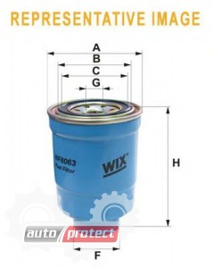Фото 1 - WIX WF8162 фильтр топливный
