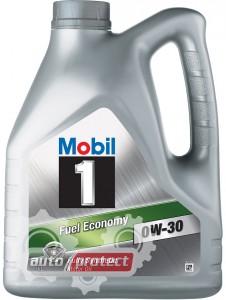 Фото 1 - Mobil 1 Fuel Economy 0W-30 Синтетическое моторное масло